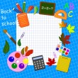 Back to school background — Stock Vector #21987091