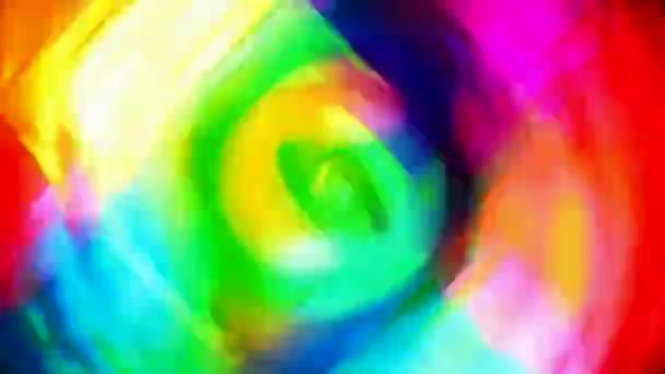 Expositor de arte — Vídeo de stock