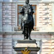 Peter 1 monument in Saint-petersburg - Stock Photo