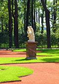 Renovated Summer garden park in St. Petersburg — Stock Photo