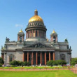Isaakiy cathedral church in Saint-petersburg, Russia - Stock Photo