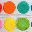 Set of water-colour paints — Stock Photo