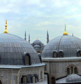 Istanbul domes — Stock Photo