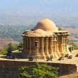 Jain temple in kumbhalgarh fort — Stock Photo