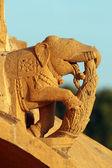 слоны на индуизм храм — Стоковое фото