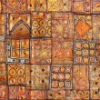 India fabric background patchwork — Photo