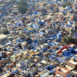 Jodhpur blue city in india — Stock Photo