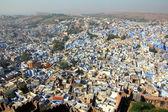 Cidade de jodhpur azul na índia — Fotografia Stock