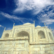 Taj Mahal - famous mausoleum — Stock Photo