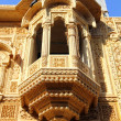 Stock Photo: Fragment of beautiful ornamental building in india