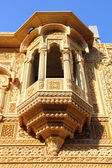 Fragment of beautiful ornamental building in india — Stock Photo