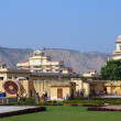 Old astrology observatory in Jaipur India — Foto de Stock
