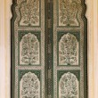 Stock Photo: Ornamental door in palace - India