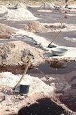 Minas de sal en la india — Foto de Stock