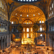 Hagia sofia museum interior in istanbul - Stockfoto