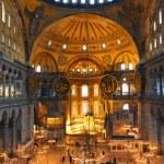 Hagia sofia museum interior in istanbul — Stock Photo #23485099