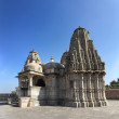 Hinduism temple in kumbhalgarh fort — Foto Stock
