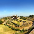 Stock Photo: Old hinduism temple in kumbhalgarh fort