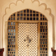 Ornamental door in India — Stock Photo
