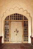 Porta ornamentale in india — Foto Stock