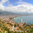 Panorama of Alanya Turkey from fortress — Stock Photo #25800717