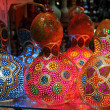 Turkish traditional multicolored lamps — Stock Photo #25800767