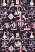 богато турецкий ковер — Стоковое фото