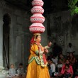 Stock Photo: Bhavai performance - famous folk dance of Rajasthan