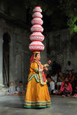 Bhavai performance - famous folk dance of Rajasthan — Stock Photo