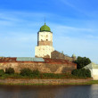 Old sweden castle on island in vyborg russia — Stock Photo