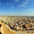Stock Photo: Panoramof Jaisalmer city in india