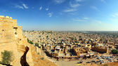 Panorama of Jaisalmer city in india — Stock Photo