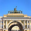 Arch of the General Staff in St. Petersburg — 图库照片