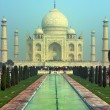 Taj Mahal - famous mausoleum in India — Stock Photo