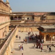 Stock Video: Fort in Jaipur India