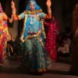 Dances of India - view in Udaipur Rajasthan — Stock Video
