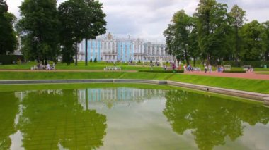 Catherine Palace in Pushkin, St. Petersburg — Stock Video