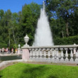 Stock Video: Evfountain in petergof park St. Petersburg Russia