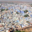 Jodhpur blue city - rajasthan india — Stock Video