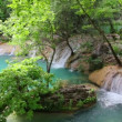 Waterfall in forest - Kurshunlu Turkey — Stock Video #38722523