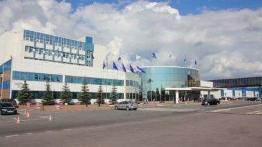 Plant brewer Baltika in Saint-Petersburg — Stock Video