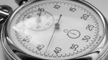 Stopwatch counts time — Stock Video