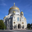 Naval Cathedral in Kronstadt Saint-petersburg — Stock Photo #38989057