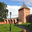 Tower of Kremlin in Veliky Novgorod — Stock Photo #39449431