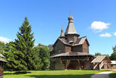 Old russian wooden church — Stock Photo