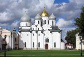 Saint Sophia Cathedral in Veliky Novgorod — Stock Photo