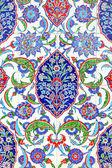 Floral ornament on tiles — Stockfoto