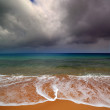 Sea landscape with moody sky — Stock Photo #44495085