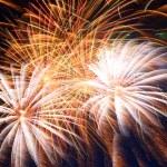 Beautiful fireworks show — Stock Photo #49972303