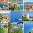 Collage made of Nice-city photos — Stock Photo #1159499